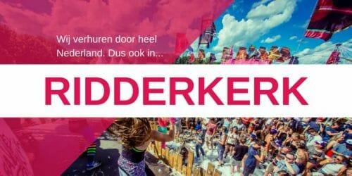 Zuid-Holland bedrijfsfuif/tuinfeest reserveren