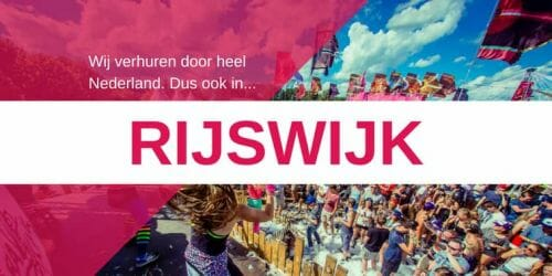 Zuid-Holland bruiloft/examenfeest boeken