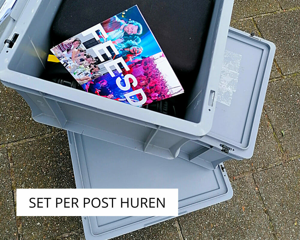 Pakket per post ontvangen via DPD, PostNL of met spoedzending (Shiplee)