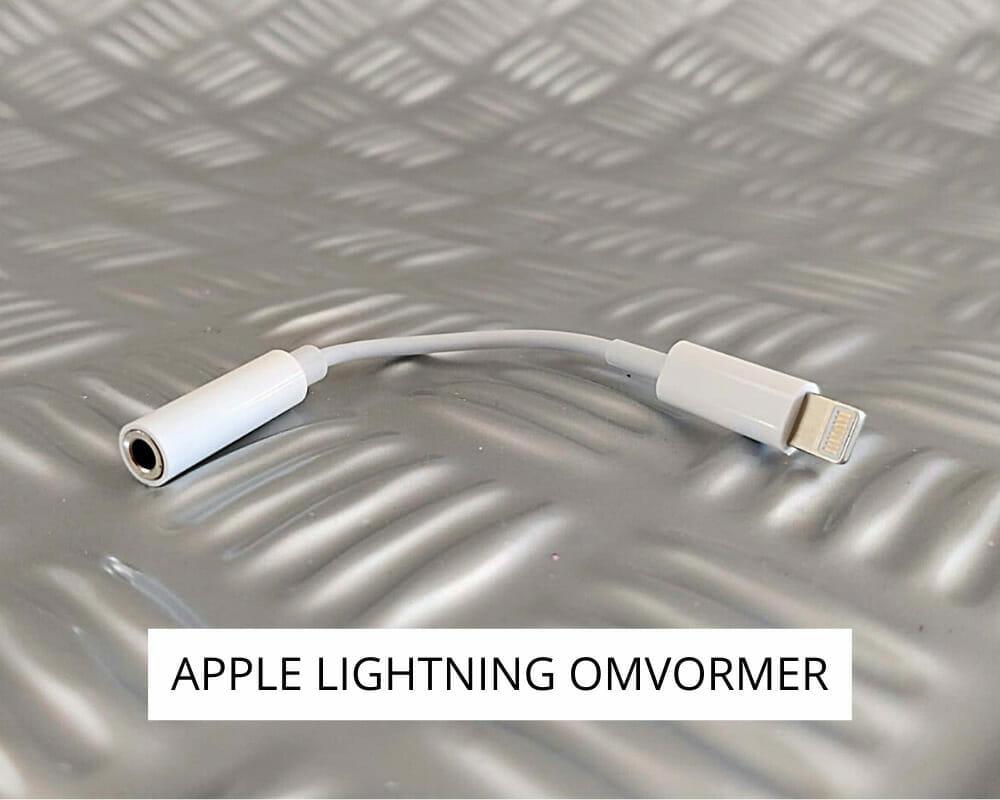 Apple lightning omvormer voor de apparatuur