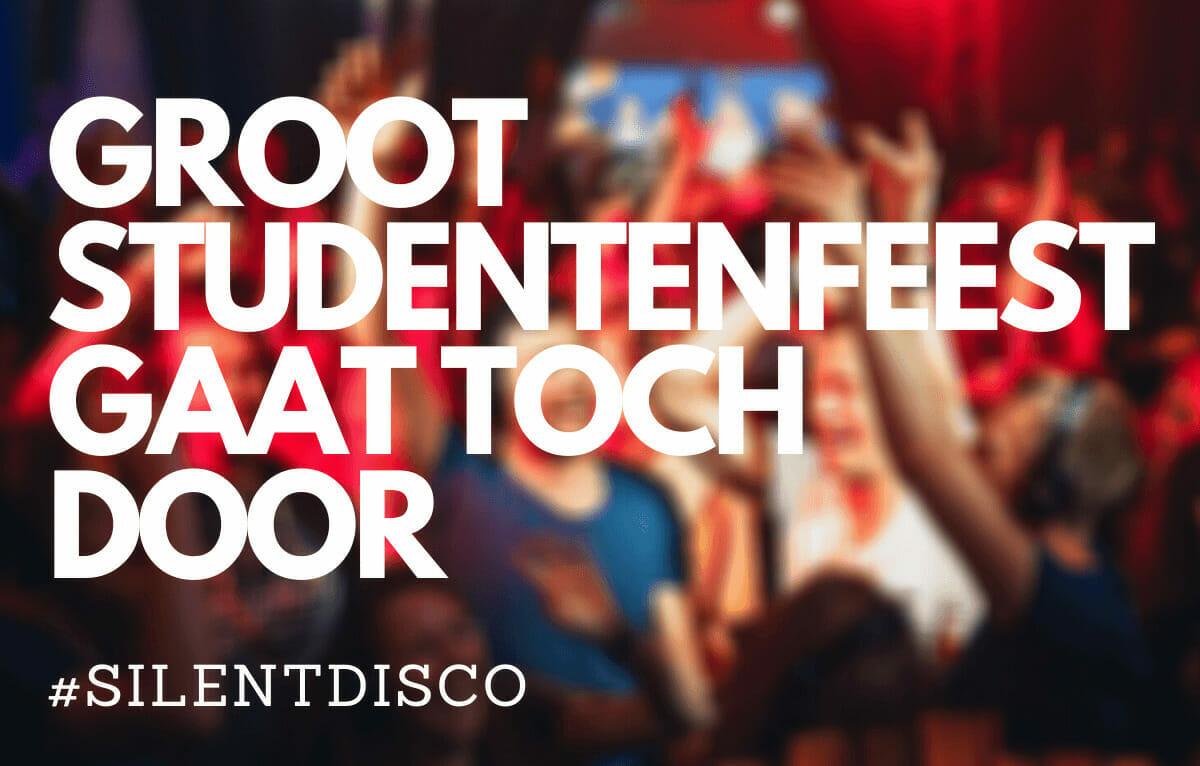 Groot (introductie)feest studenten gaat toch door, dankzij de Silent disco headphones